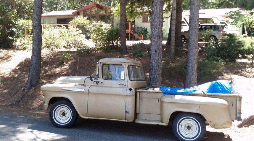 Main photo of Tom Slater's 1957 Chevrolet Stepside Pickup