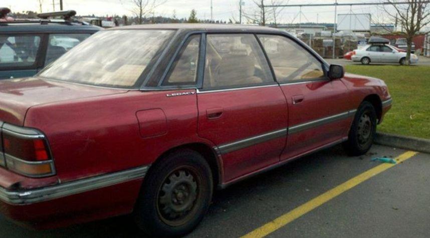 Main photo of Clinton-Dale Bevers's 1990 Subaru Legacy