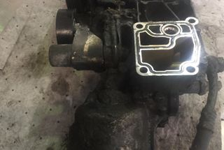 homepage tile photo for Cleaned up the oil filter housing. Engine was leaking from every...