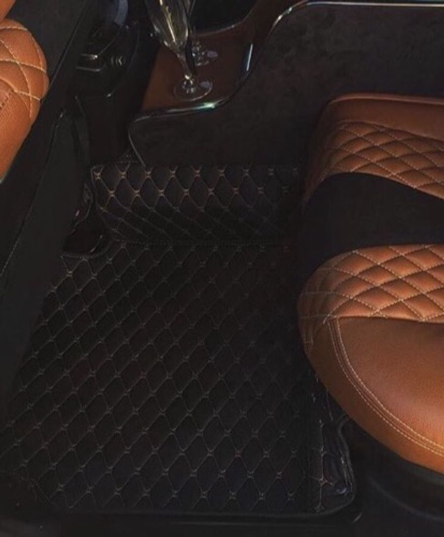 Auto Supreme Diamond Stitched Floor Mats Installed On Colton