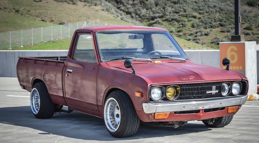 Main photo of Chris Soto's 1973 Datsun 620