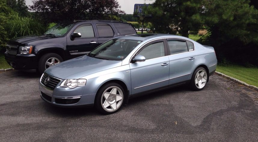 Main photo of Nathaniel Henderson's 2007 Volkswagen Passat