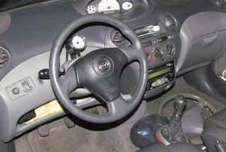 homepage tile photo for Got the sport steering wheel in.  Horn won't work with it, but...