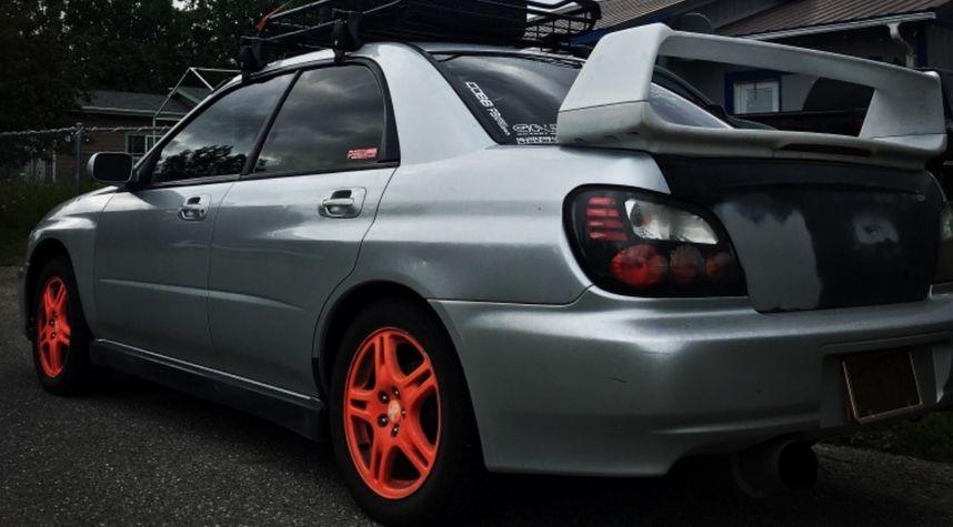 Main photo of Joshua Bongers's 2003 Subaru Impreza WRX