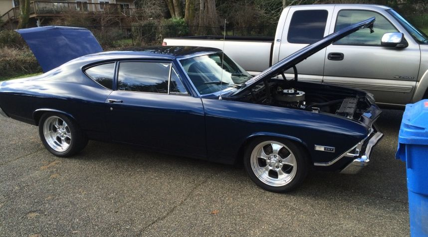 Main photo of Thomas Cagley's 1968 Chevrolet Chevelle