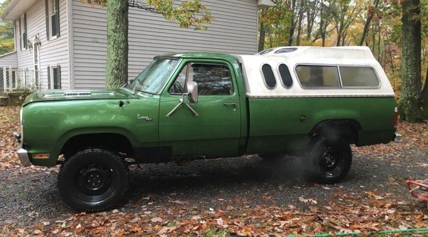 Main photo of Clayton Ashby's 1977 Dodge Pickup