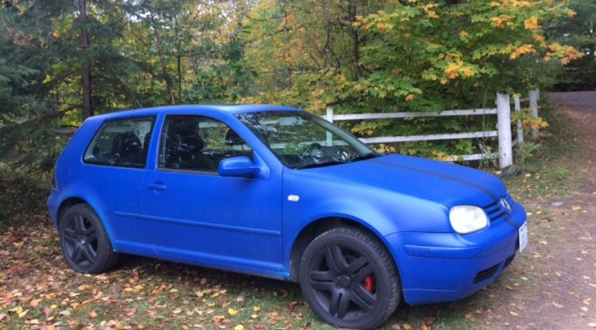 Main photo of Gideon Climenhaga's 2001 Volkswagen GTI
