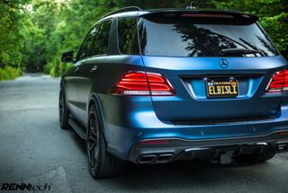 homepage tile photo for Inspiration for the wife's ML350. It's amazing what a wrap, wheels...
