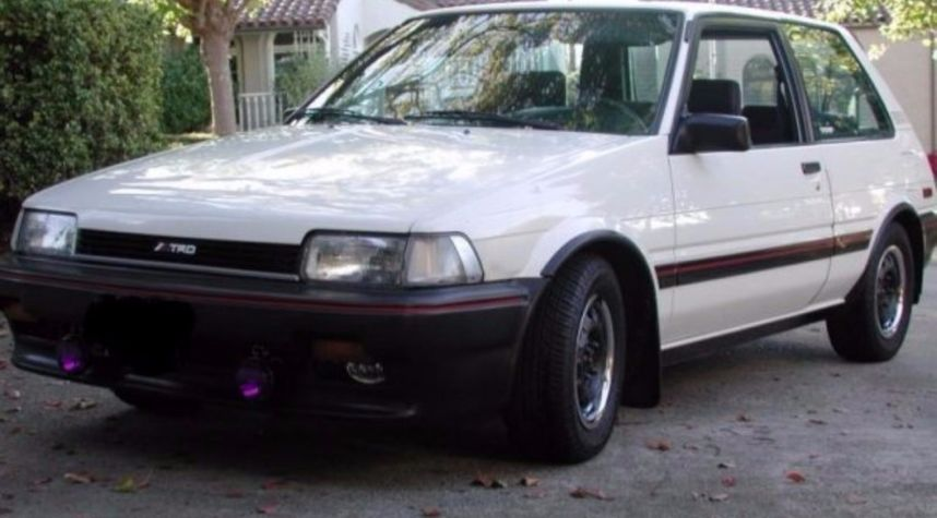 Main photo of Rob SR's 1987 Toyota Corolla FX-16