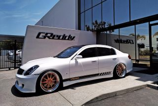 homepage tile photo for Quick shoot in front of GReddy Performance corporate office....