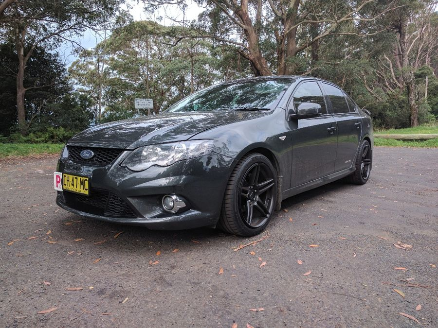 Luke Cilia S 2008 Ford Falcon On Wheelwell