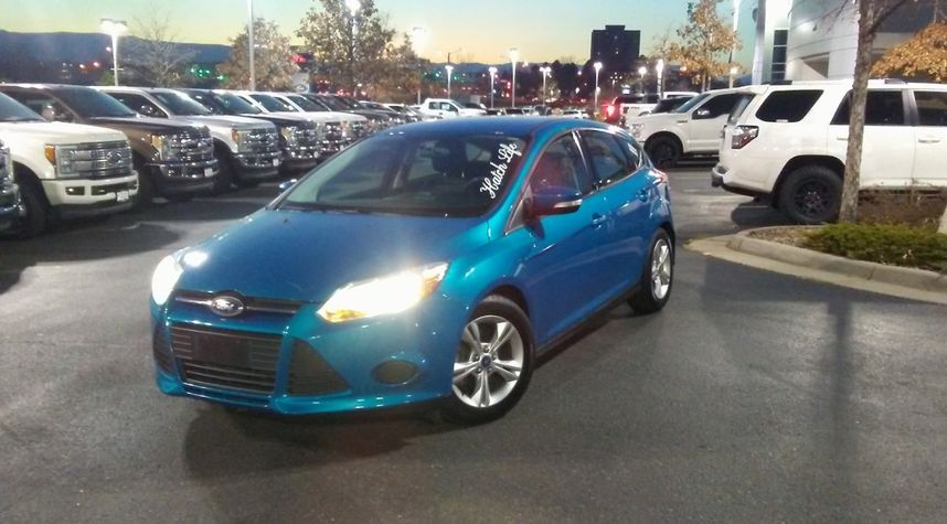 Main photo of Brian A Heckler Jr.'s 2014 Ford Focus