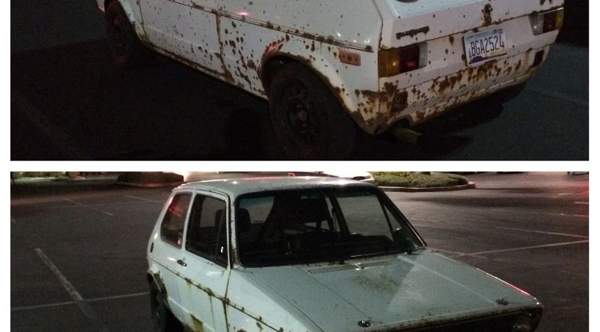Main photo of Matthew Meleg's 1978 Volkswagen Rabbit