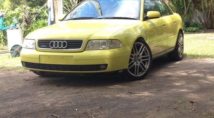 Main photo of Jacob Fajarda's 1999 Audi A4