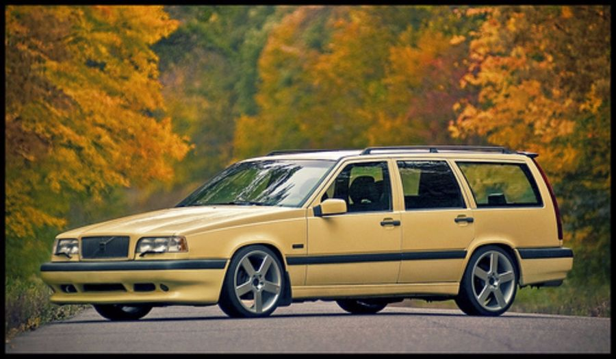 Nomads Tuner Club S 1996 Volvo 850 On Wheelwell