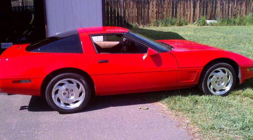 Main photo of Jacob Enyart's 1995 Chevrolet Corvette