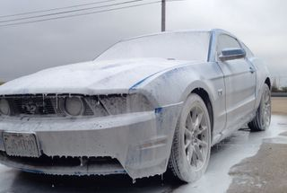 homepage tile photo for Gave her a good foam bath today #chemicalguys