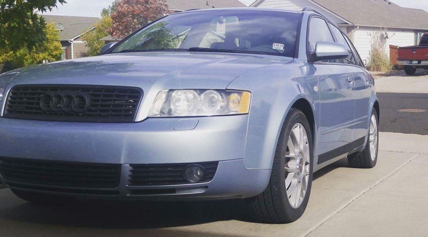 Main photo of Jacob Cornett's 2004 Audi A4