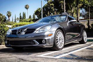homepage tile photo for Not your average hairdressers car. Naturally Aspirated V8 spittin'...