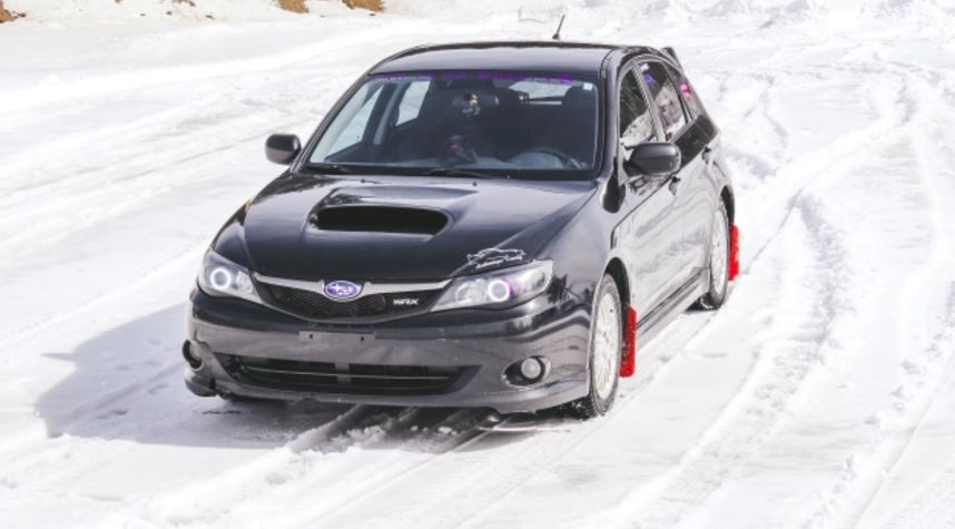 Main photo of Jessica Pomerleau's 2009 Subaru WRX