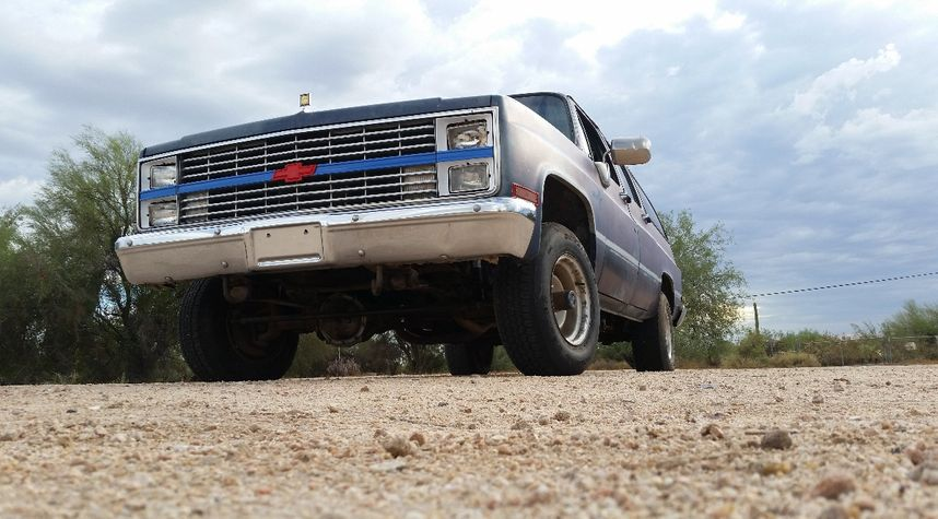Main photo of Robert Spence's 1984 Chevrolet Suburban