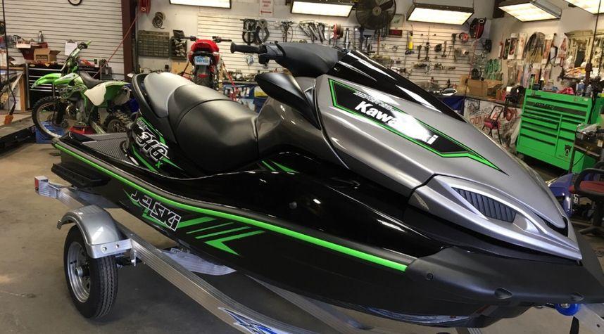 Main photo of Jeff Keenan's 2015 Kawasaki JET SKI ULTRA 310X