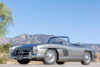 homepage tile photo for Featured Auction - 1957 Mercedes-Benz 300SL Roadster :: One of the most stunning cars ever made.