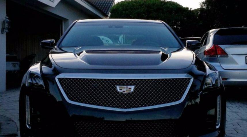Main photo of Todd Pease's 2016 Cadillac CTS-V