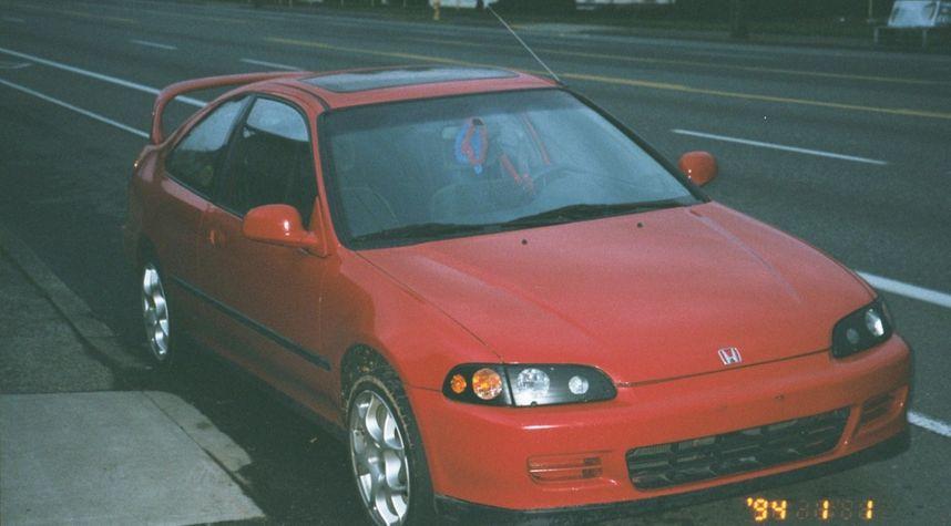 Main photo of Josh Reed's 1995 Honda Civic