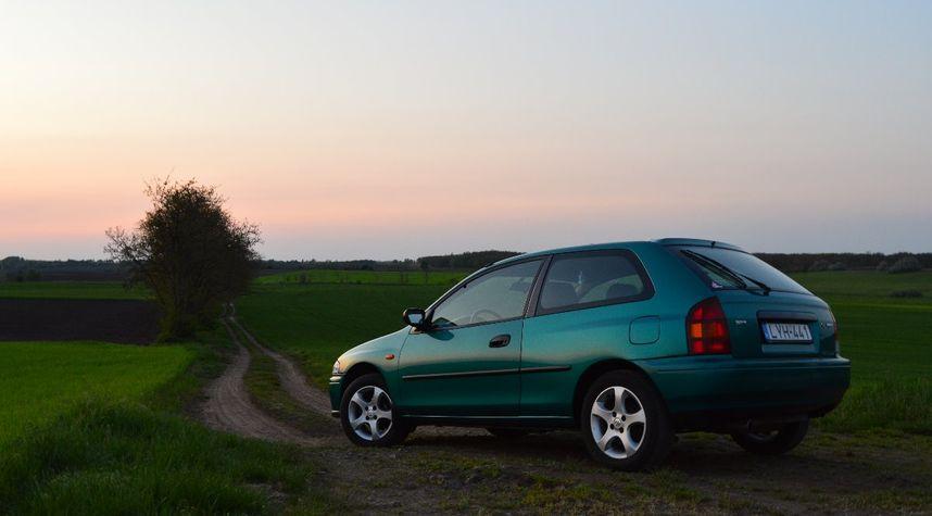 Main photo of Daft Pete's 1997 Mazda 323
