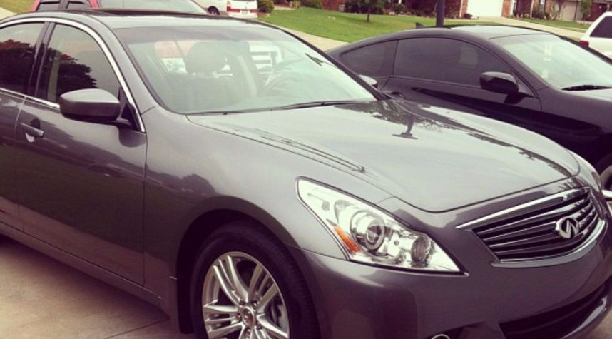 Main photo of Kevin Maradiaga's 2013 Infiniti G Sedan