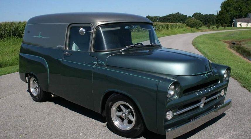 Main photo of Steven Lee's 1957 Dodge Panel