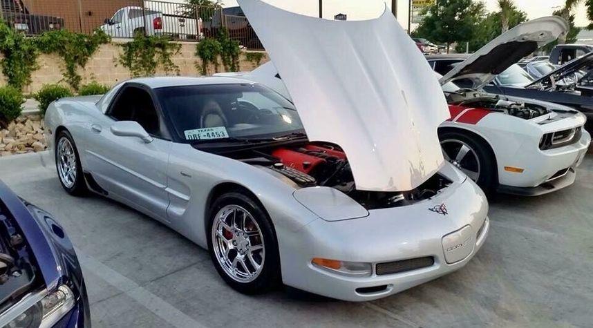 Main photo of Dallas Keener's 2002 Chevrolet Corvette
