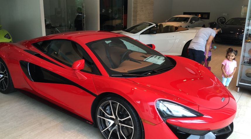 Main photo of Fahad Abbas's 2016 McLaren 570S