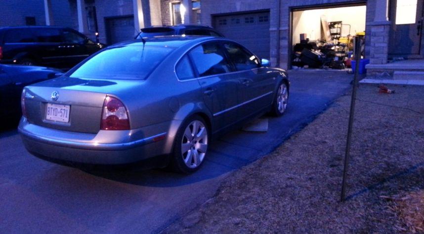 Main photo of Jeff Regan's 2002 Volkswagen Passat