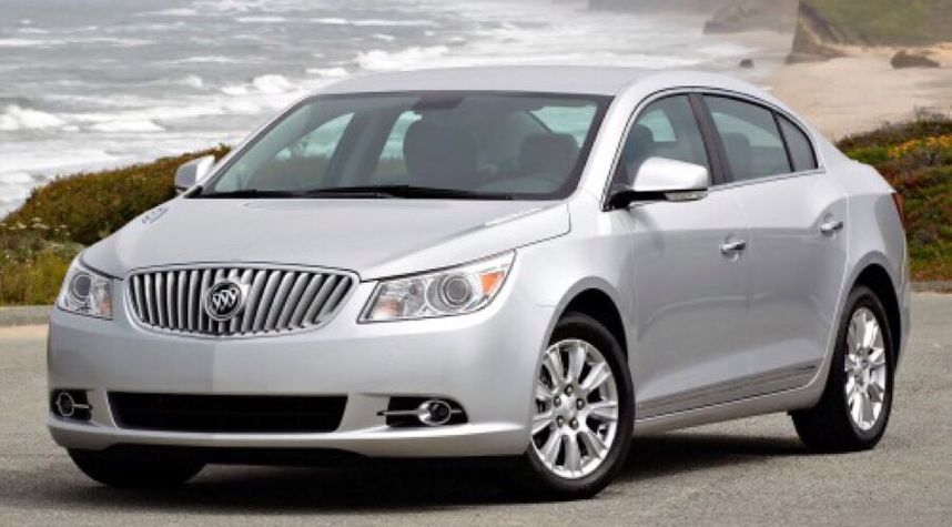 Main photo of Byron Strickland's 2013 Buick LaCrosse